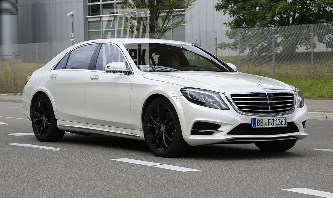 All-new Mercedes S-Class testing begins – first mules are out