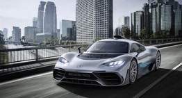 WORLD PREMIERE! There comes the sinister beast – Mercedes-AMG Project ONE
