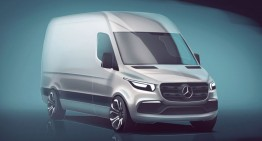 2018 Mercedes Sprinter van: First official picture and info are here