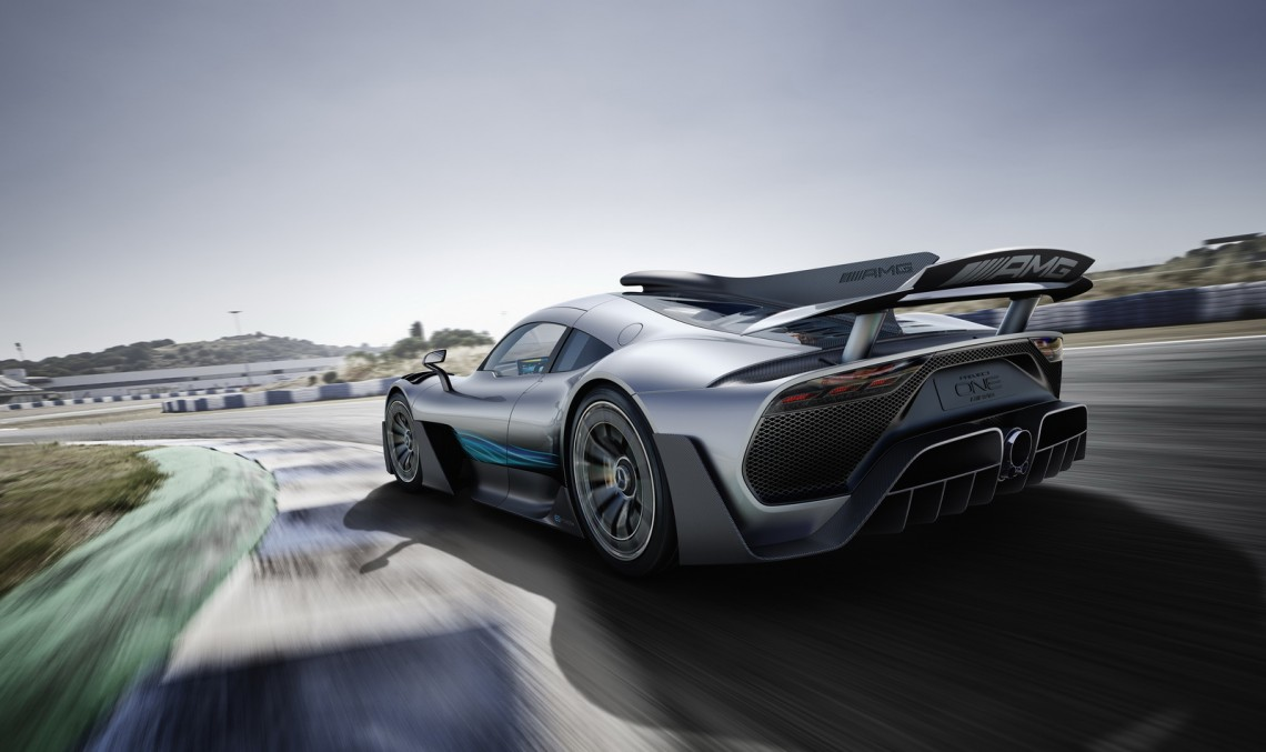 Made in Britain: Mercedes-AMG Project One hypercar will be built in UK