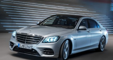 FRANKFURT IAA 2017: New plug-in hybrid Mercedes-Benz S 560 e