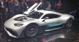 LIVE IAA 2017: Mercedes-Benz media night – Mercedes-AMG Project One and smart autonomous concept
