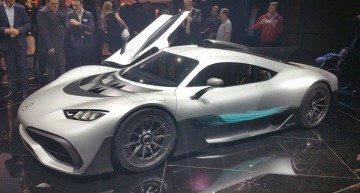 LIVE IAA 2017: Mercedes-Benz media night – Mercedes-AMG Project One and smart autonomous concept