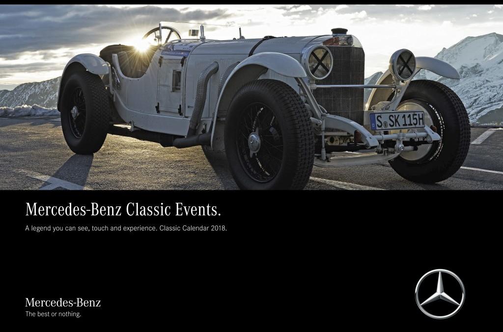 Mercedes-Benz Classic 2018 calendar: A legend you can see