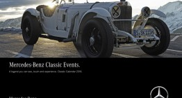 Mercedes-Benz Classic 2018 calendar: A legend you can see