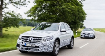 Mercedes GLC F-Cell: First Series Fuel Cell Benz Heading to IAA 2017