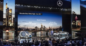 LIVE IAA 2017: Mercedes-Benz Frankfurt premieres full coverage