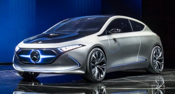 LIVE IAA 2017: Mercedes EQA, the smallest electric Benz full details are here