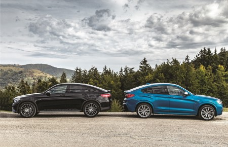 Mercedes-AMG GLC 43 vs BMW X (19)
