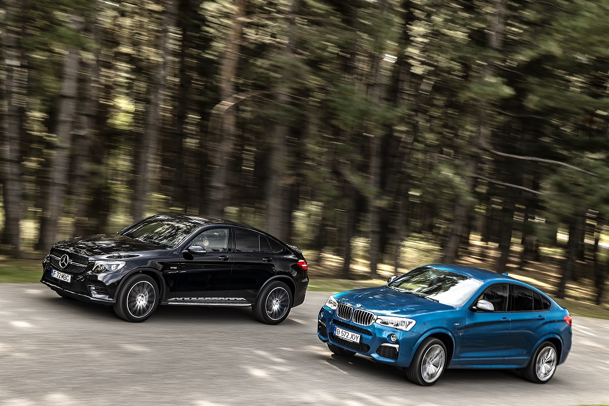 Mercedes-AMG GLC 43 vs BMW X (27)