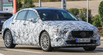 FIRST EVER PICTURES: New Mercedes A-Class sedan