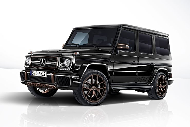 Mercedes-AMG G 65 Final Edition: Swan song for the G-Class