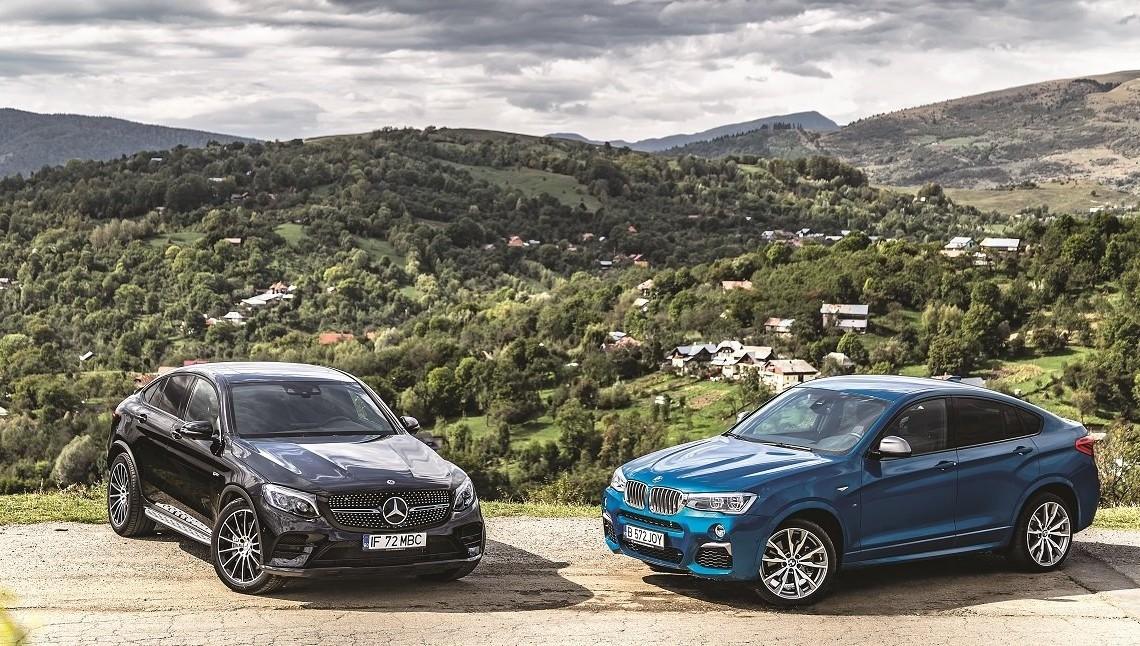 Comparison test Mercedes-AMG GLC 43 vs BMW X4 M40i