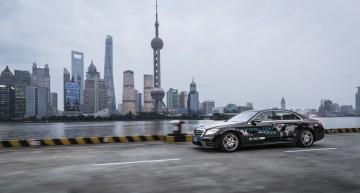 Mercedes tests autonomous S-Class on Shanghai roads