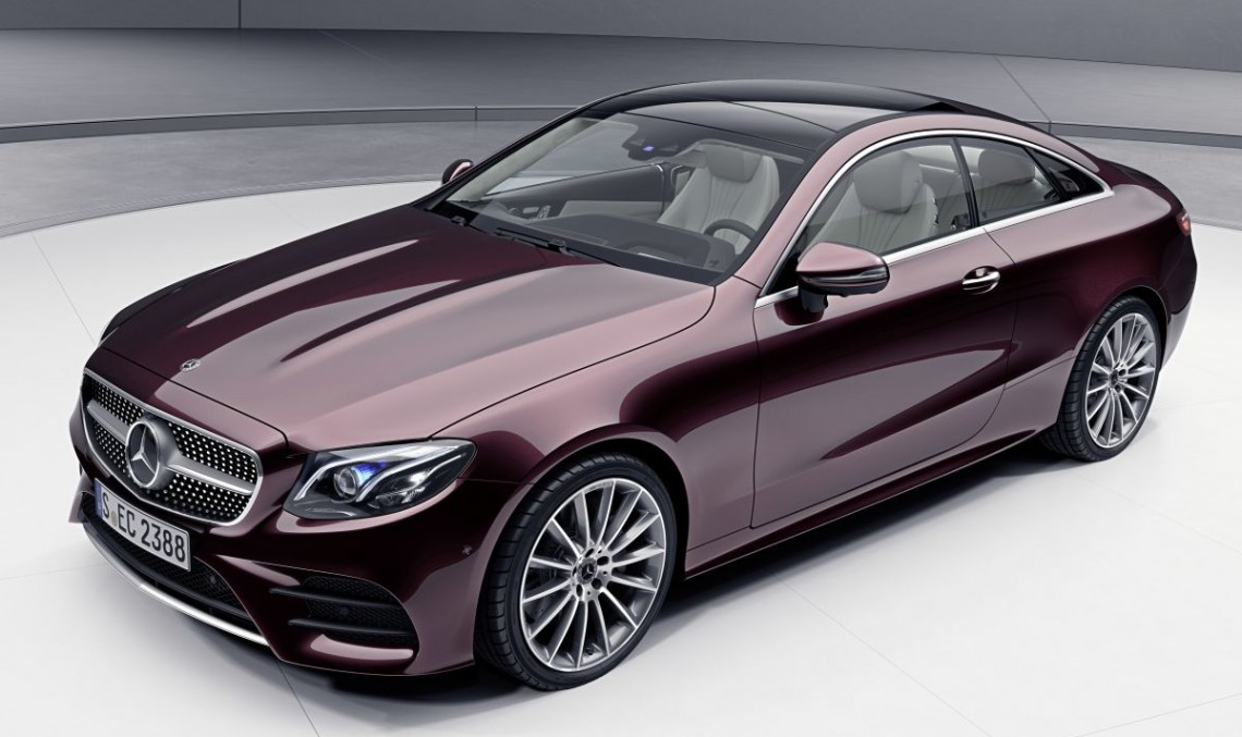 New turbo engine with 48 V tech for Mercedes E-Class Coupe and Convertible
