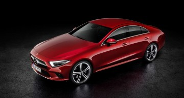 Now it's OFFICIAL! The Mercedes-Benz CLS is finally here!