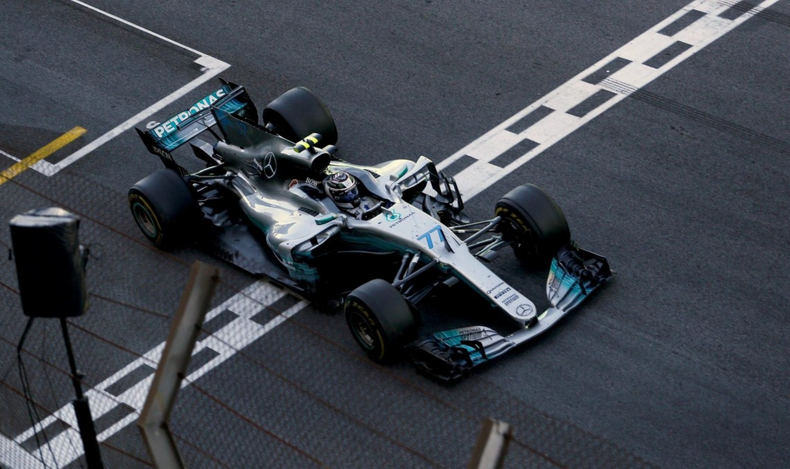 Hamilton storms to fourth from last, Bottas second in Brazil