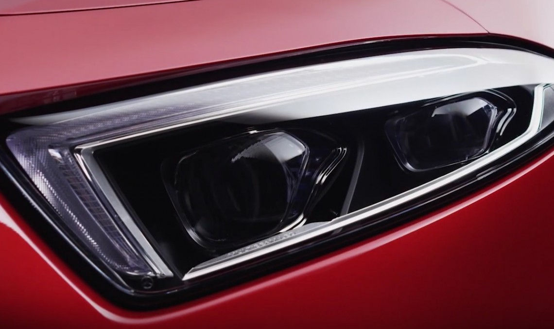 The devil is in the details – Mercedes-Benz CLS shows sexy curves in new teaser video