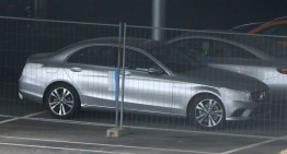 2018 Mercedes C-Class: First pictures with virtually no camouflage