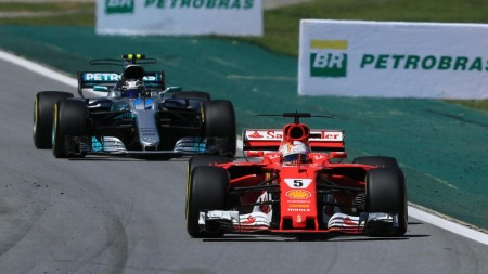 Vettel and Bottas GP Brazil