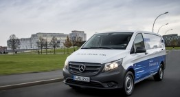 Mercedes-Benz eVito: First electric van with 150 km range
