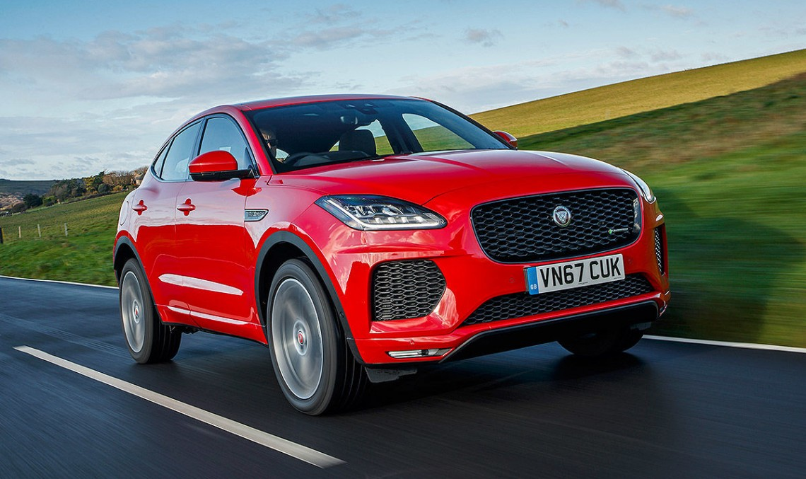 Compact Jaguar E-Pace SUV tested: GLA killer or not?