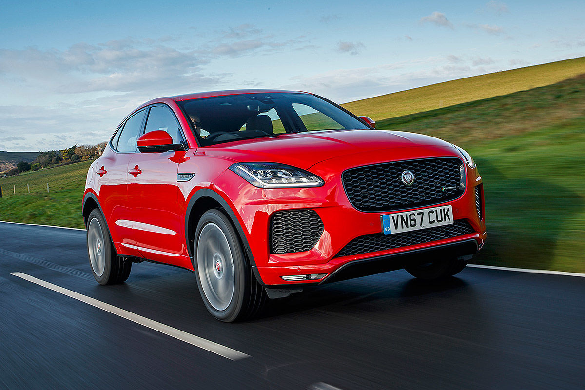 jaguar f pace suv review parkers autos post. Black Bedroom Furniture Sets. Home Design Ideas
