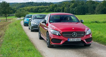 Performance Coupes: Mercedes-AMG C 43 Coupe vs Audi S5, BMW 440i