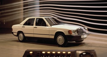 Legendary Mercedes-Benz 190 W 201 celebrates its 35th birthday