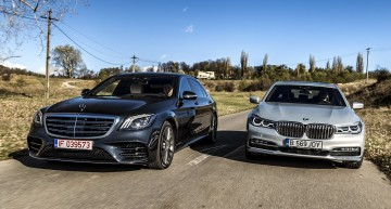 Simply the best: First test Mercedes S-Class facelift vs BMW 7 Series