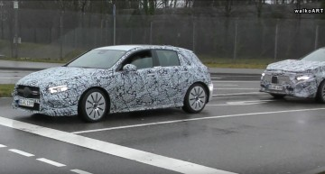 Busted! Mercedes-AMG A35 caught testing