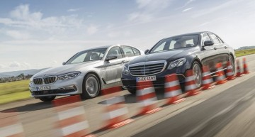 Last Jedi: Mercedes E 220 d vs BMW 520d. Cleanest diesels in the world?