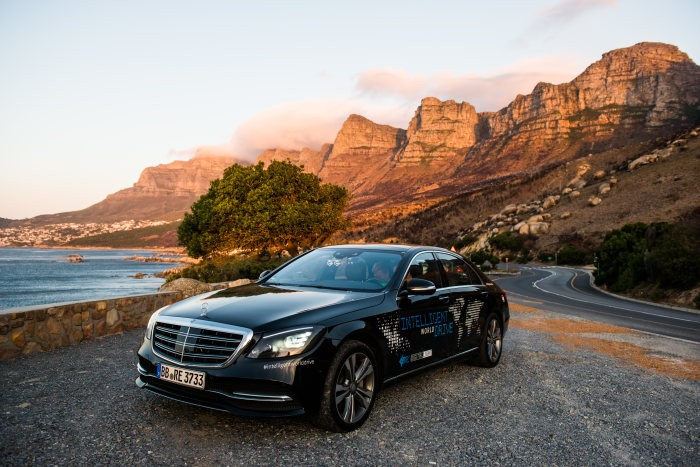 going autonomous in south africa - the self-driving mercedes-benz s