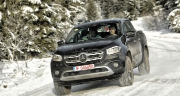 First test Mercedes X 250 d 4Matic Automat