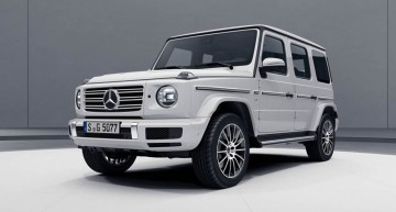 Tough athlete: Mercedes G-Class AMG Line sports pack