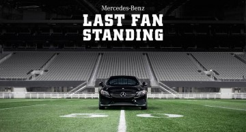 Last Fan Standing Wins a Mercedes-AMG C 43 Coupe