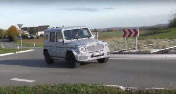 Racing radiator grille on an off-roader? The Mercedes-AMG G 63 gets the Panamericana