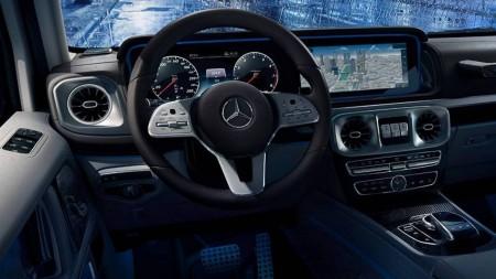Mercedes-Benz G-Class interior (7)