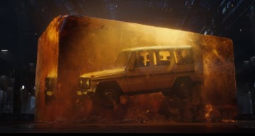 The Mercedes-Benz G-Class teased once again before debut in Detroit