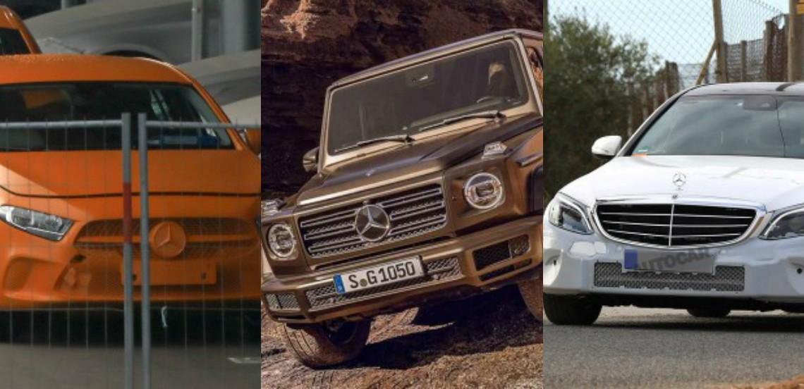 2018 Mercedes new models