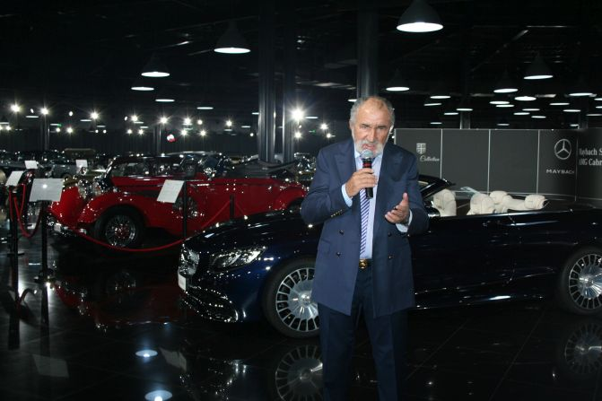 Ion Tiriac bought 2 pieces of the 300 limited series Mercedes-Maybach S 650 Cabriolet