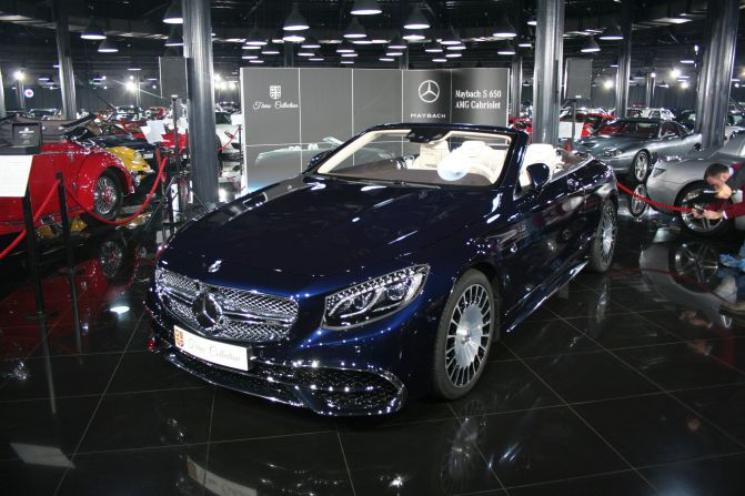Tiriac Mercedes-Maybach S 650 Cabrio (9)