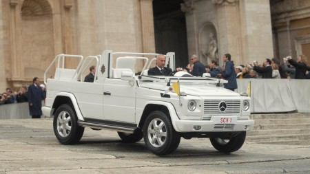 Popemobile G-Class history