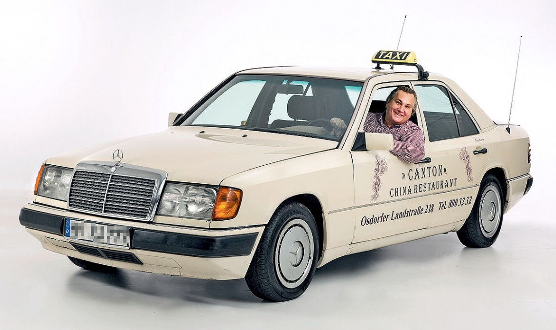 Die Hard: 1.3 million kilometers for Mercedes W124 taxi