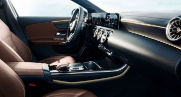 One teaser closer – The new Mercedes-Benz A-Class shows infotainment system