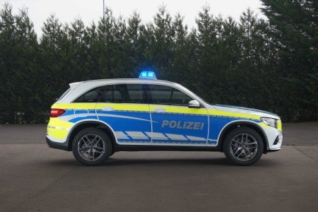Mercedes-Benz police cars