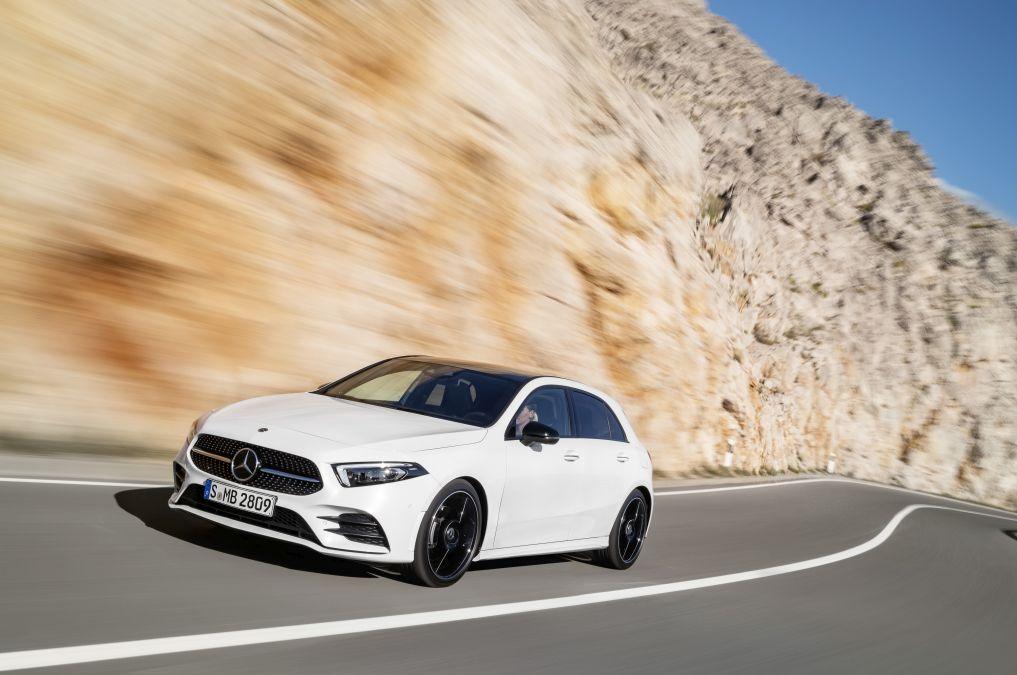 OFFICIAL: this is the new Mercedes A-Class