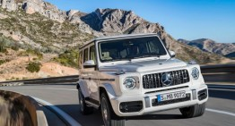 Mercedes-AMG G 63 shows its supremacy on film