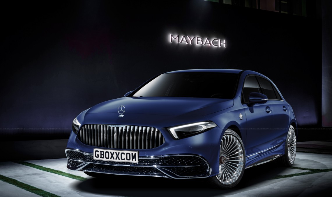 Mercedes-Maybach A-Class? Never saw that coming!