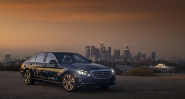 The Mercedes robot taxi is set to arrive soon
